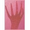 Gloves Creepy Nightmare Burgundy